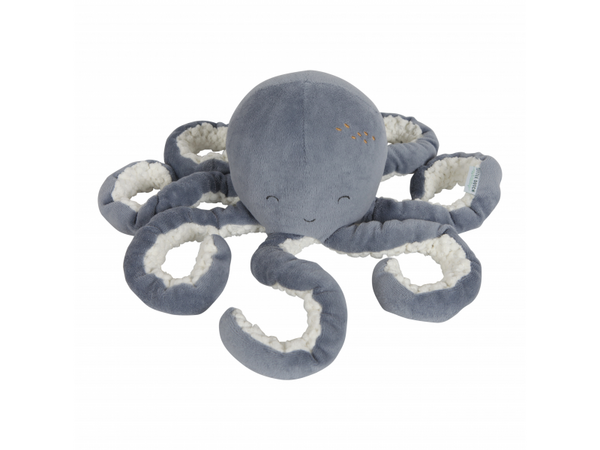 Malá plyšová chobotnička ocean blue