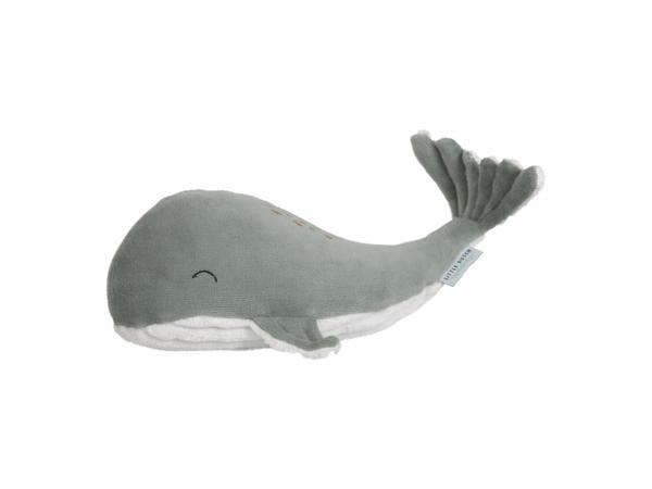 Malá plyšová veľryba ocean mint