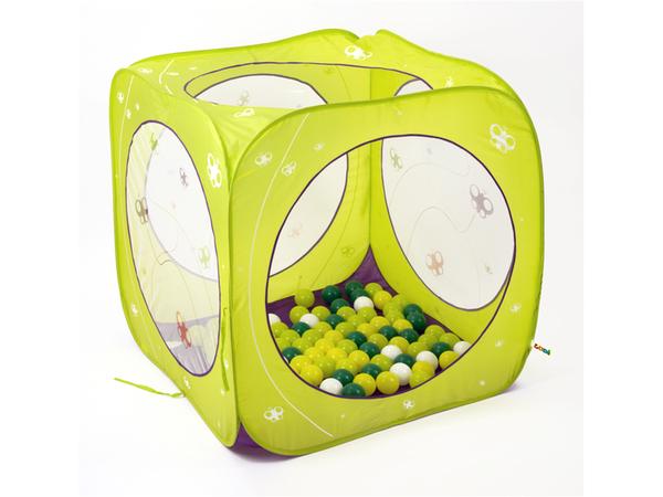 Skladací hrací stan kocka