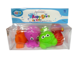 Hračky do vody morské potvorky 4ks