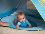 Stan s bazénom anti-UV pre bábätko