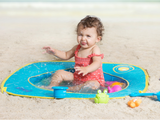 Skladací bazén na pláž