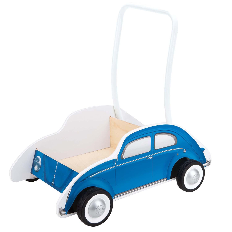 Auto na tlačenie VW modré